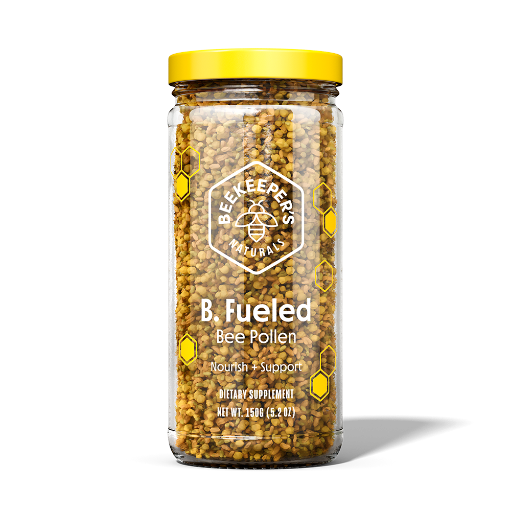 B Fueled Bee Pollen - Beekeeper's Naturals - Certified Paleo, Keto Certified by the Paleo Foundation