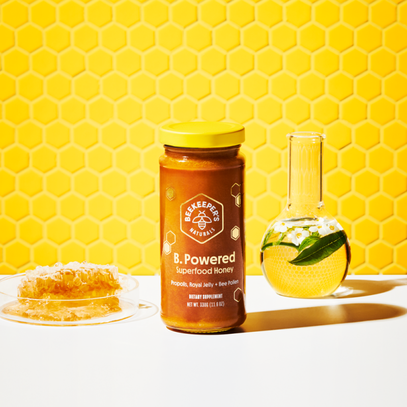 B Powered Honey Gallery - Beekeeper's Naturals - Certified Paleo, Keto Certified by the Paleo Foundation