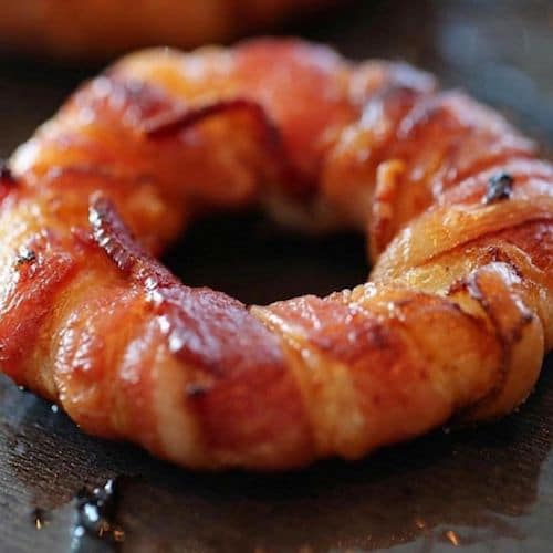 Bacon wrapped Onions with Honey BBQ Seasoning - Flavor God - Certified Paleo - Paleo Foundation - paleo diet - paleo lifestyle - paleoaf