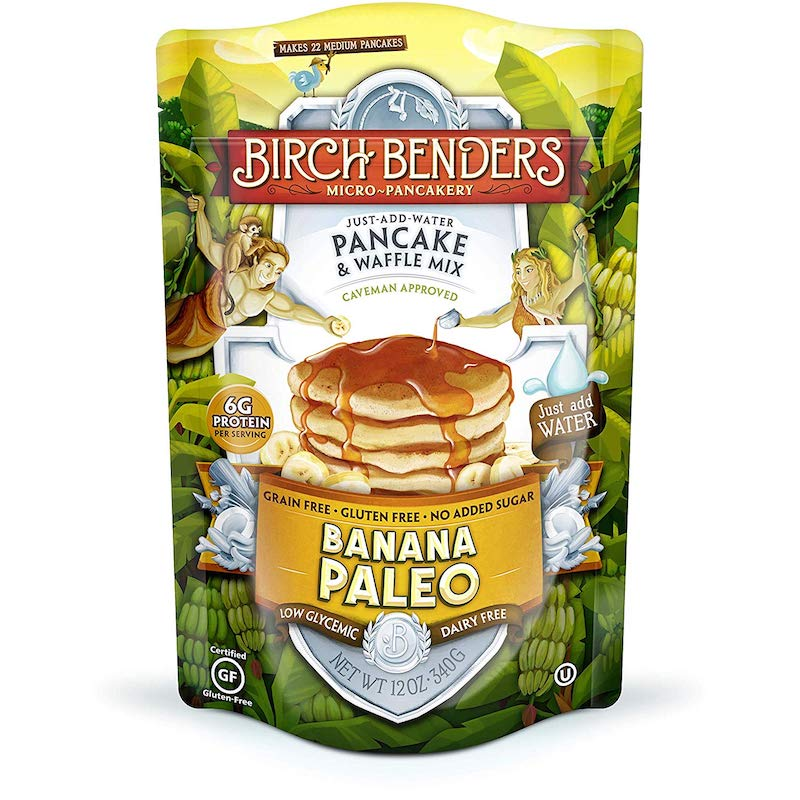 Banana Paleo Pancake Mix - Birch Benders - Certified Paleo by the Paleo Foundation