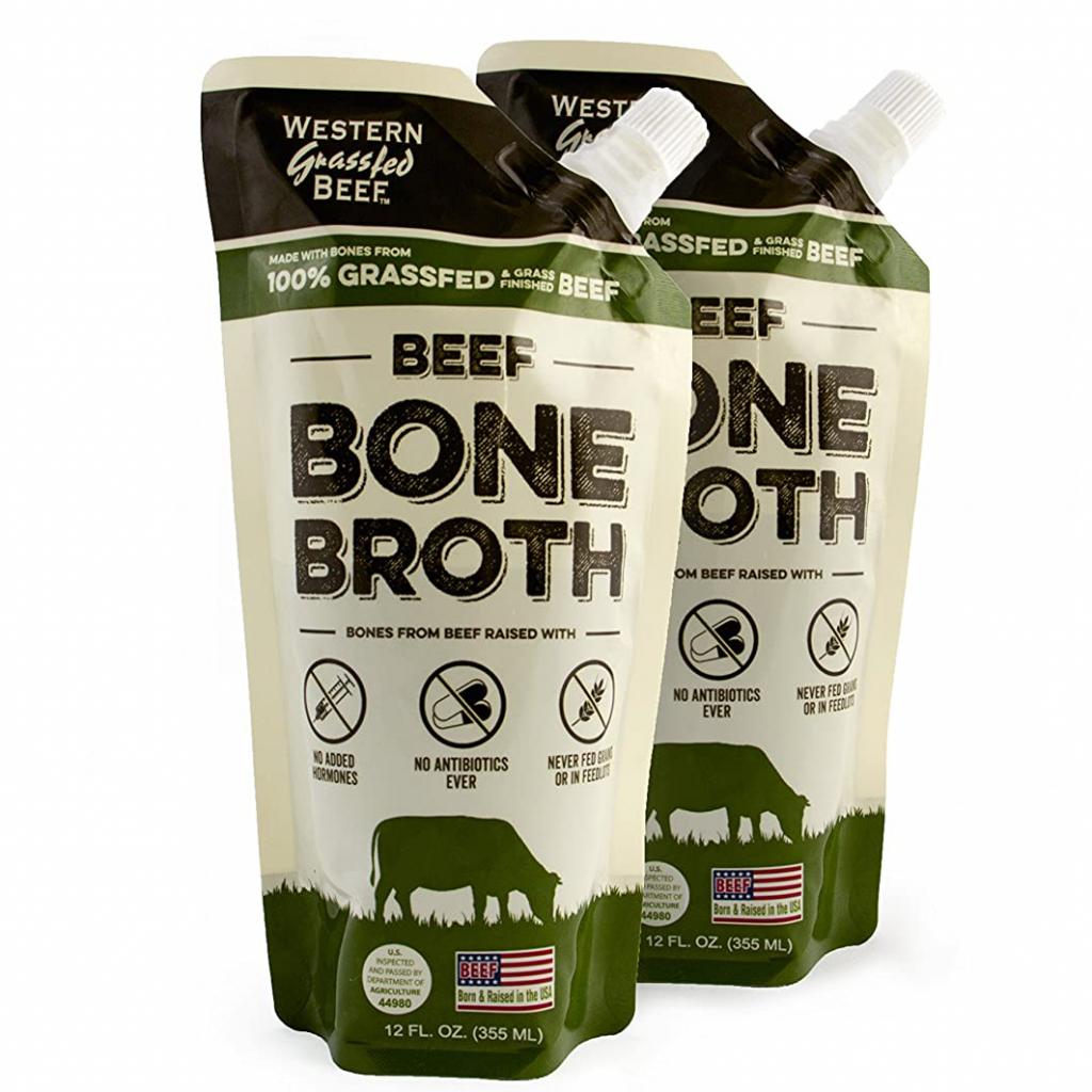 Beef Bone Broth - Western Grassfed Beef - Certified Paleo by the Paleo Foundation