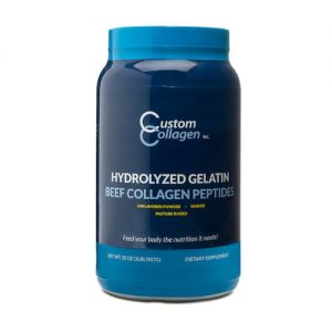 Beef Collagen Peptides - Custom Collagen - Paleo Friendly - Paleo Foundation