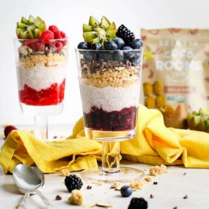 Berry Chia Pudding Parfaits - Sejoyia - Certified Paleo, Paleo Vegan - Paleo Foundation