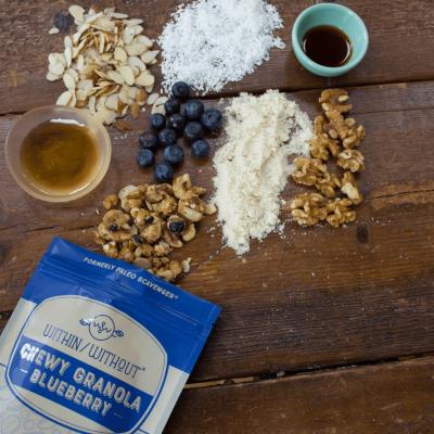 Blueberry Granola - Within/Without - Certified Paleo - Paleo Foundation
