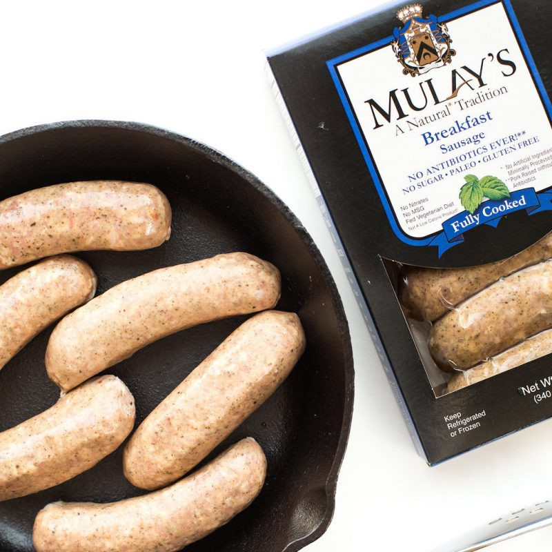 Breakfast Sausage 2 - Mulay's - Certified Paleo by the Paleo Foundation