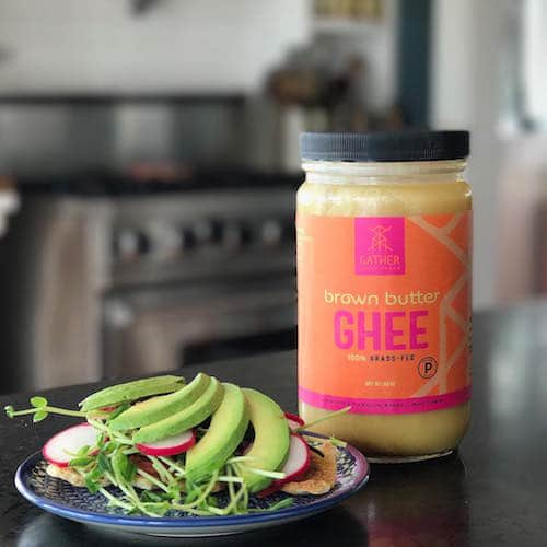 Brown Butter Ghee - Gather Superfoods - Certified Paleo, Keto Certified - Paleo Foundation