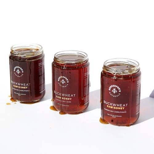 Buckwheat Honey Lineup - Beekeeper's Naturals - Certified Paleo - Paleo Foundation - Paleo Diet