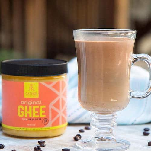 Bulletproof Cafe Mocha Original Ghee - Gather Superfoods - Certified Paleo, Keto Certified - Paleo Foundation