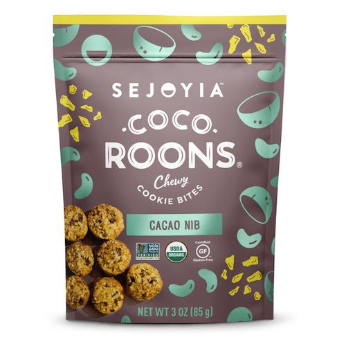Cacao Nib Coco-roons - Sejoyia - Certified Paleo, Paleo Vegan - Paleo Foundation