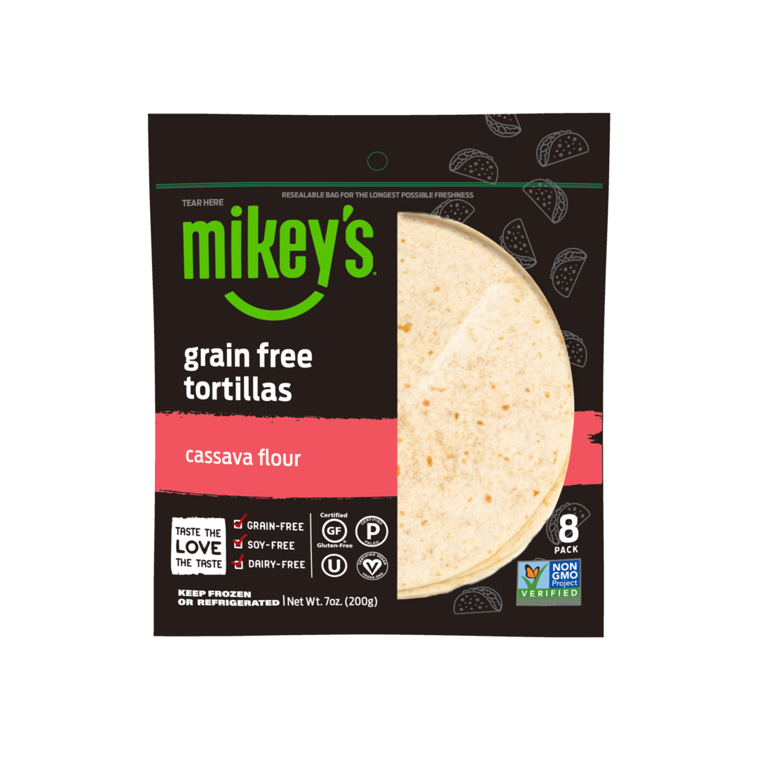 Cassava Flour Tortillas - Mikey's Muffins - Certified Paleo by the Paleo Foundation