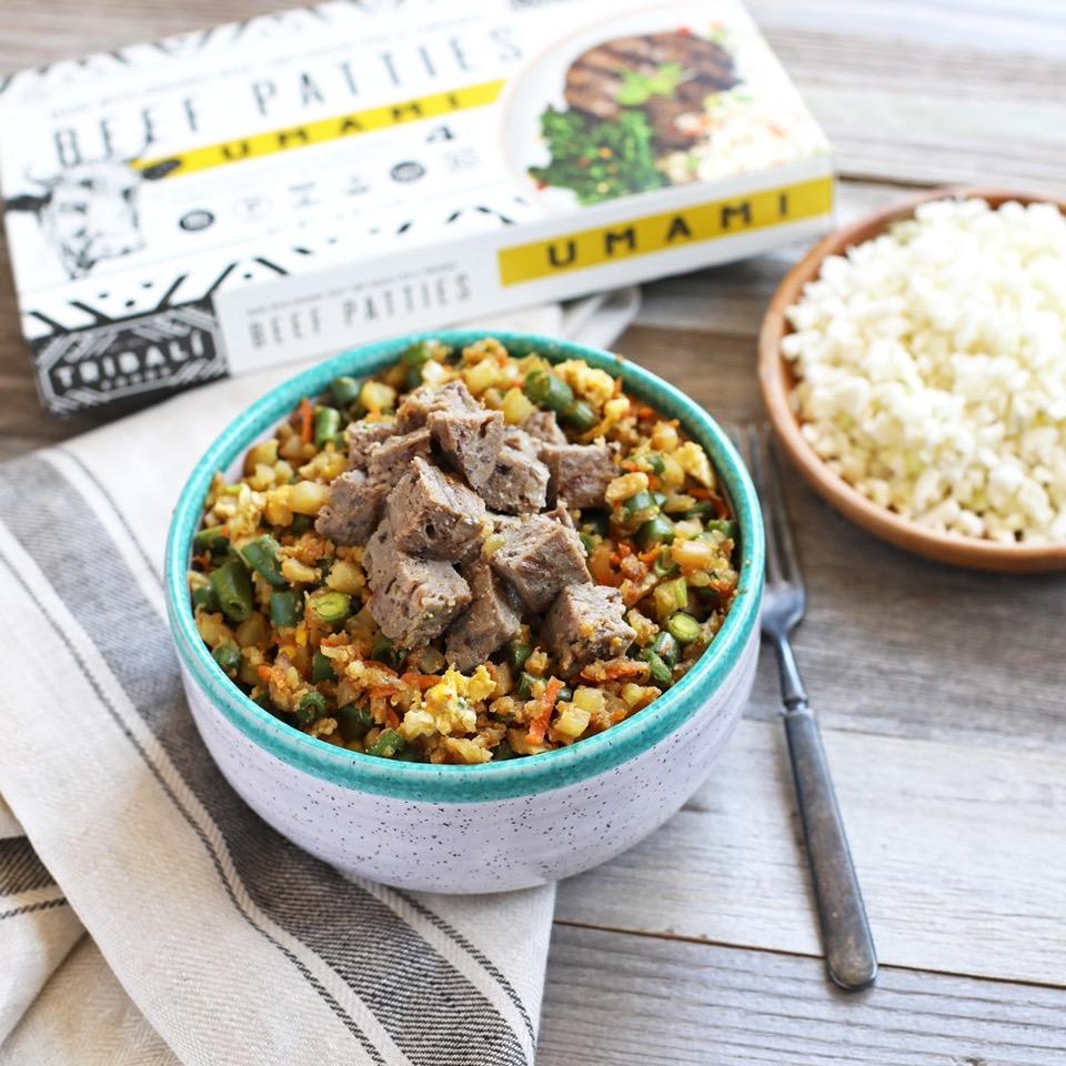 Cauliflower Fried Rice - Tribali - Certified Paleo - Paleo Foundation