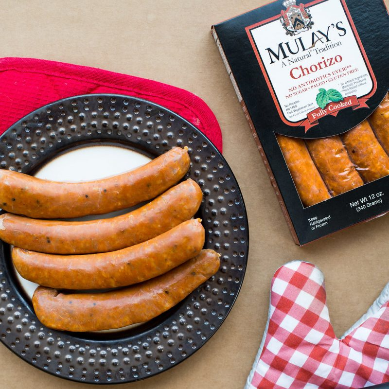 Chorizo 3 - Mulay's - Certified Paleo by the Paleo Foundation