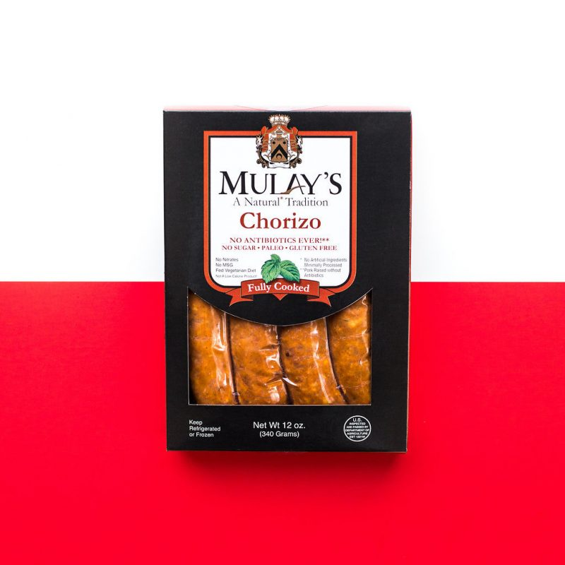 Chorizo 4 - Mulay's - Certified Paleo by the Paleo Foundation