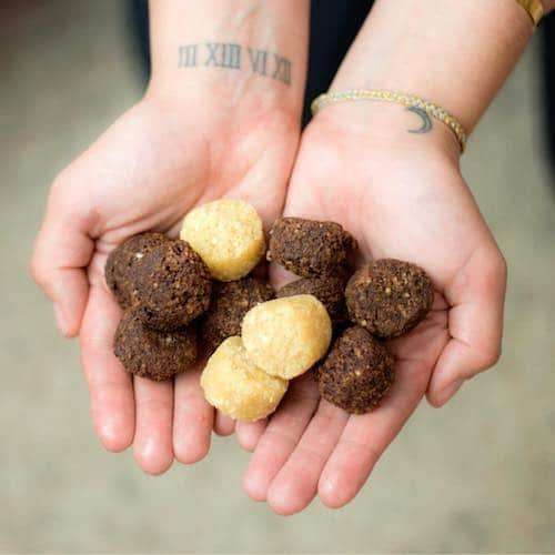 Coco-roons in hand - Sejoyia Foods - Certified Paleo - Paleo Foundation