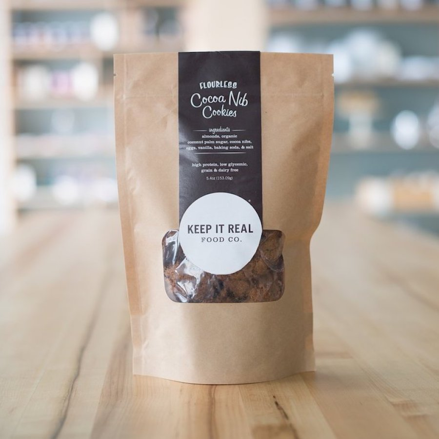 Cocoa Nib Cookies - Keep It Real Food Co. - Certified Paleo by the Paleo Foundation