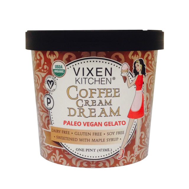 Coffee Cream Dream - Vixen Kitchen - Certified Paleo, PaleoVegan - Paleo Foundation