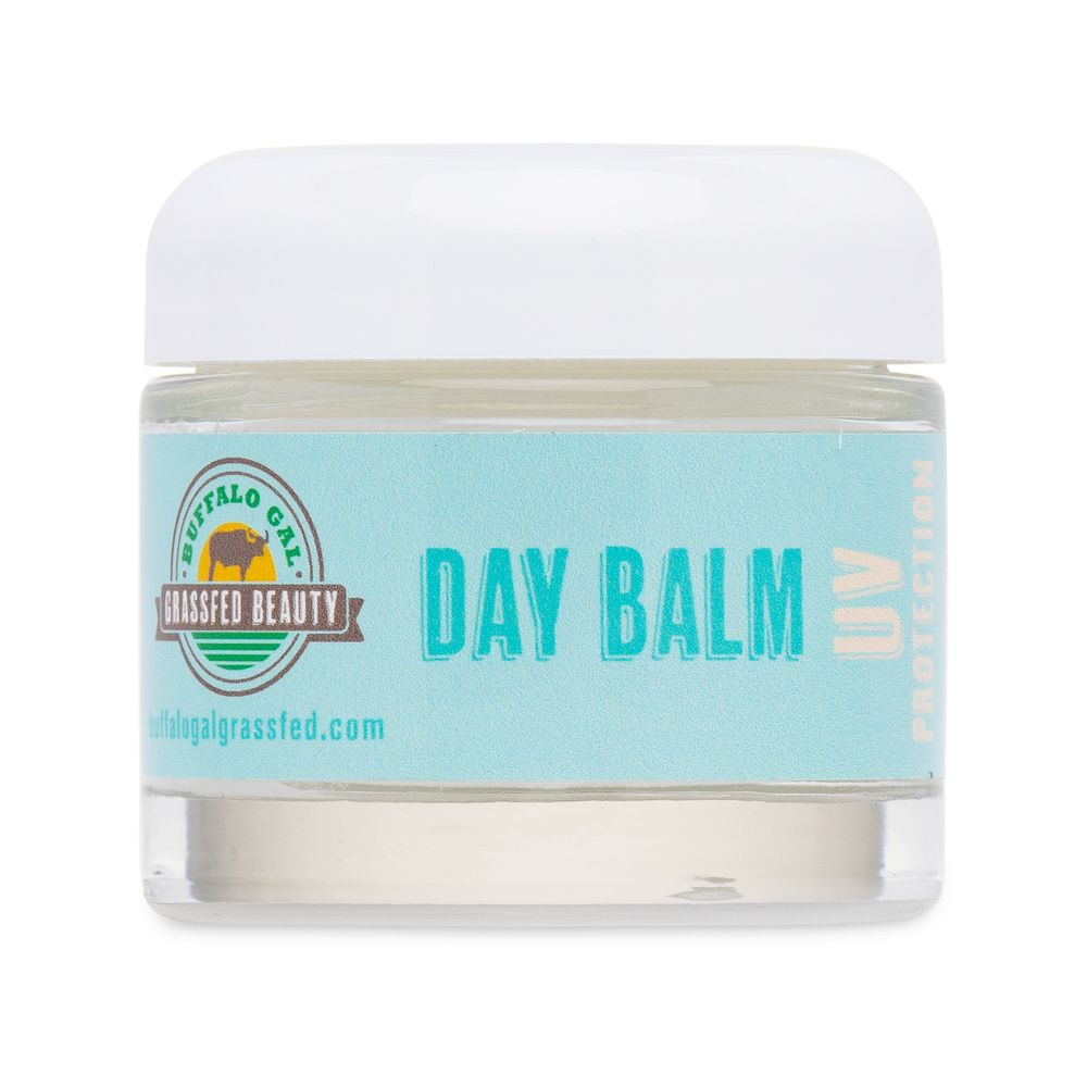 Day Balm with UV Protection - Buffalo Gal Grassfed Beauty - Certified Paleo by the Paleo Foundation