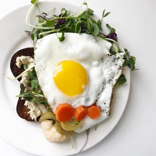 Egg topped - Barely Bread - Certified Paleo, KETO Certified - Paleo Foundation