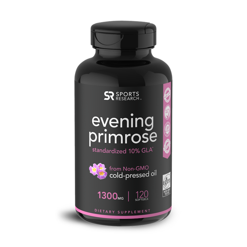 Evening Primrose - Sports Research - Certified Paleo Friendly by the Paleo Foundation