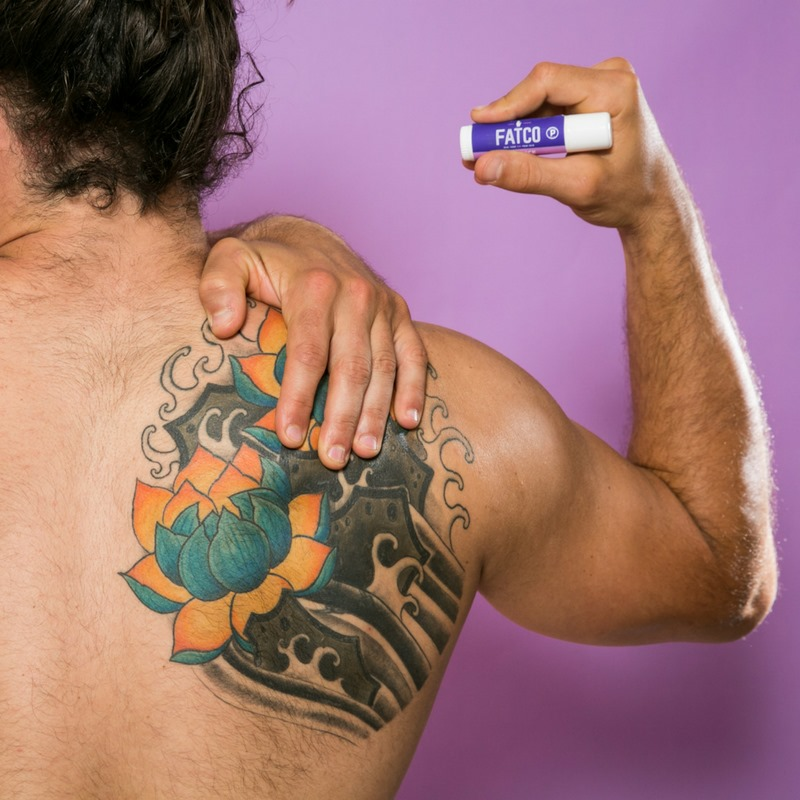 Fat Stick for Tattoos - FATCO - Certified Paleo by the Paleo Foundation
