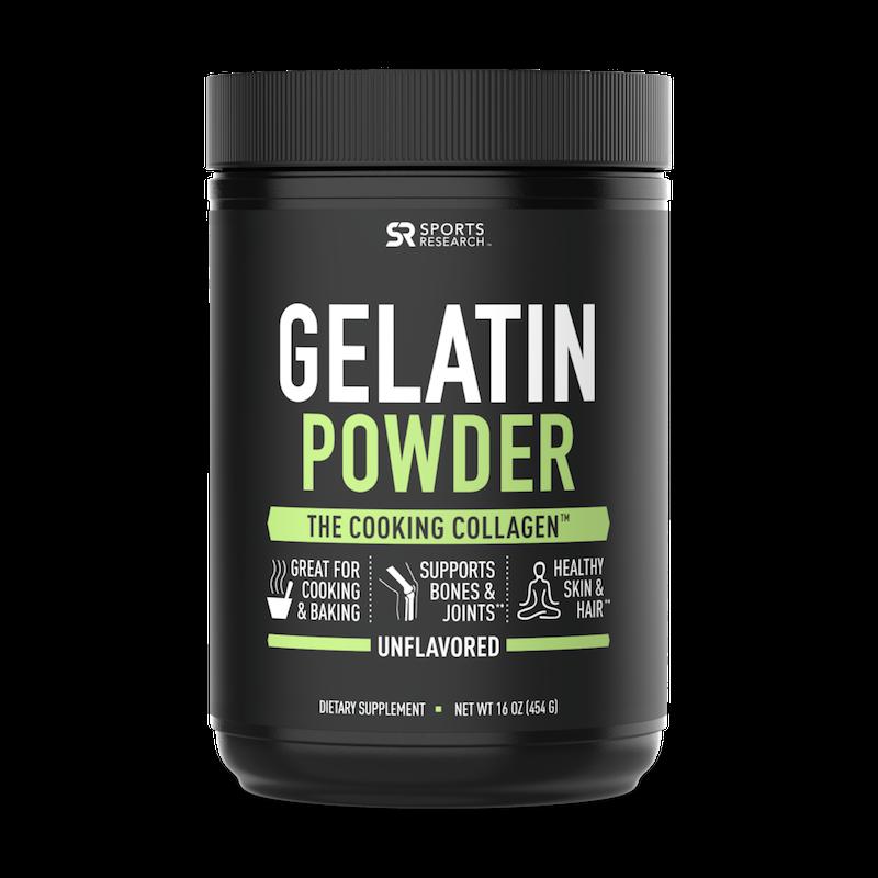 Gelatin Powder - Chocolate - Sports Research - Certified Paleo Friendly, KETO Certified by the Paleo Foundation