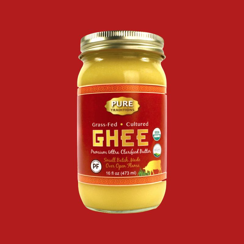 Ghee - Pure Traditions - Paleo Friendly, KETO Certified by the Paleo Foundation