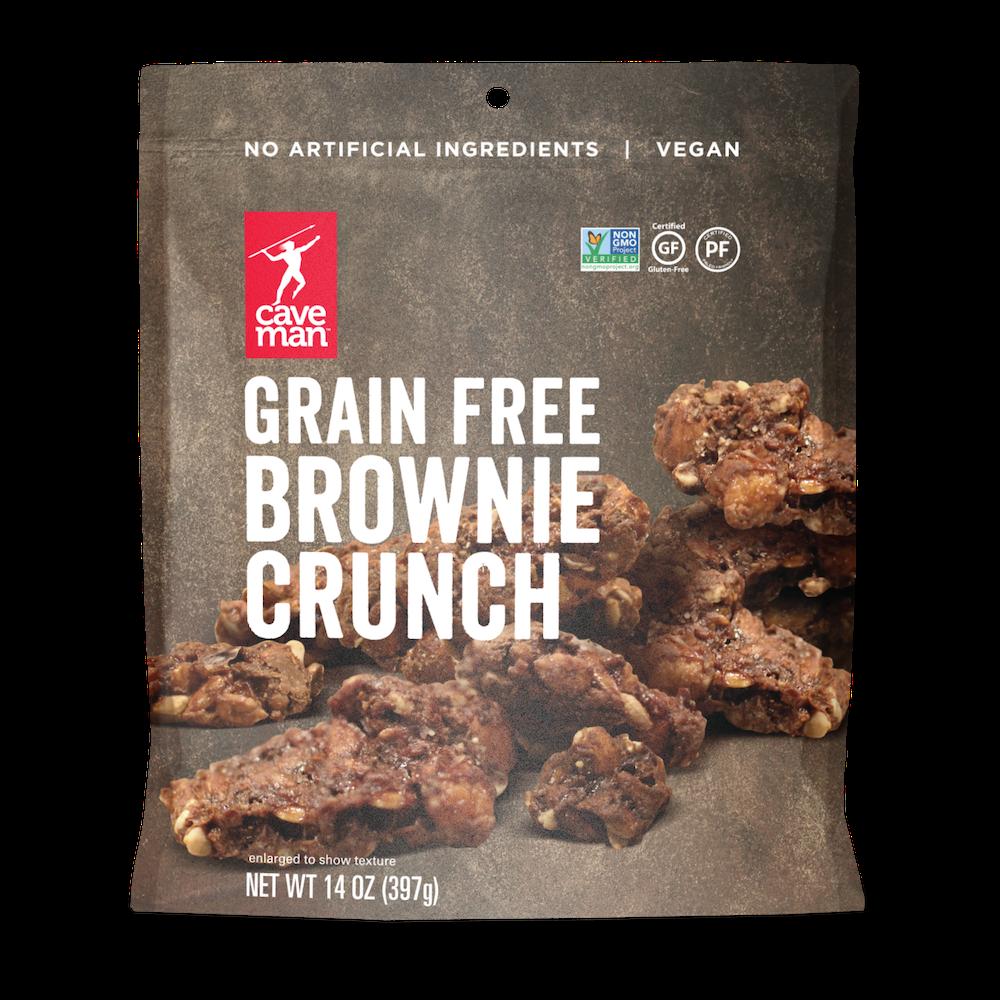 Grain Free Brownie Crunch - Caveman Foods - Certified Paleo Friendly by the Paleo Foundation
