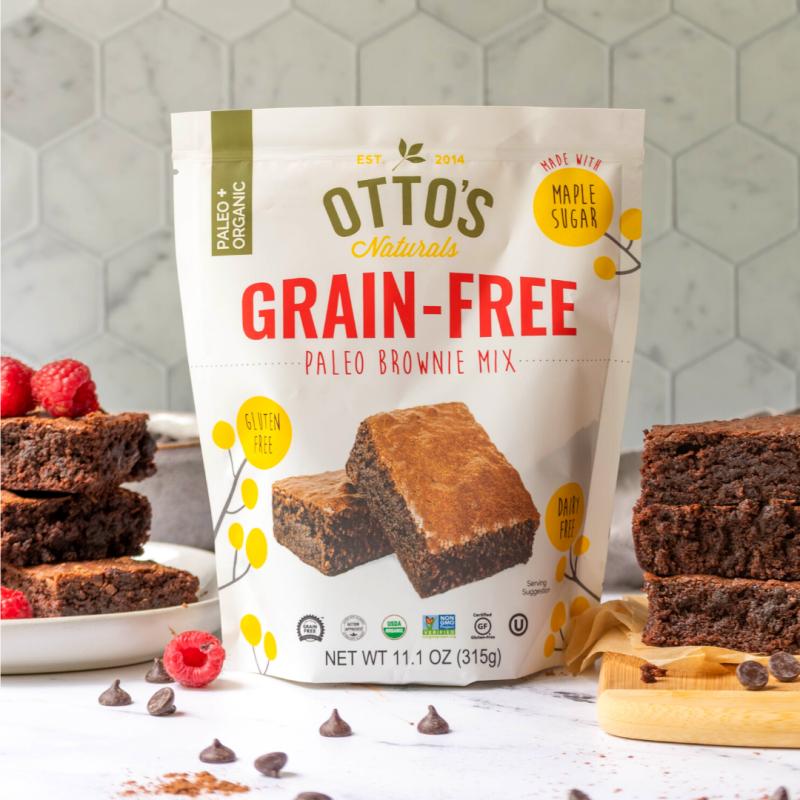 Grain Free Paleo Brownie Mix Gallery - Otto's Naturals - Certified Paleo Paleo Vegan by the Paleo Foundation