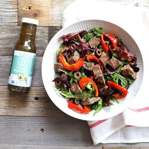 Greek Salad - Tribalí Foods Organic 100% Grass-fed Beef - Certified Paleo - Paleo Foundation