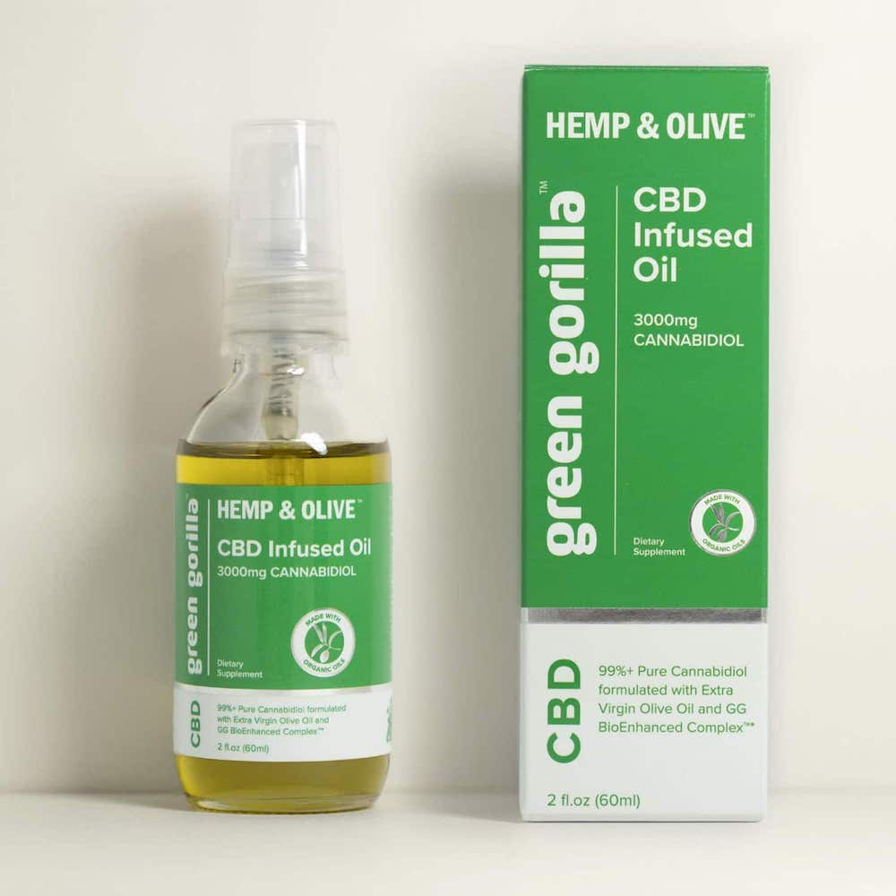 Green Gorilla Hemp & Olive - Green Gorilla - Certified Paleo by the Paleo Foundation