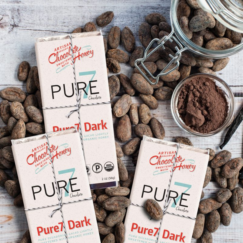Honey Sweetened Pure7 Chocolate - Certified Paleo, PaleoVegan by the Paleo Foundation