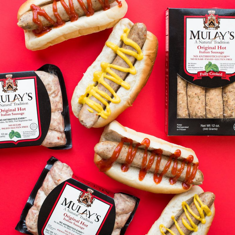 Hotdogs Spread - Mulay's - Certified Paleo by the Paleo Foundation