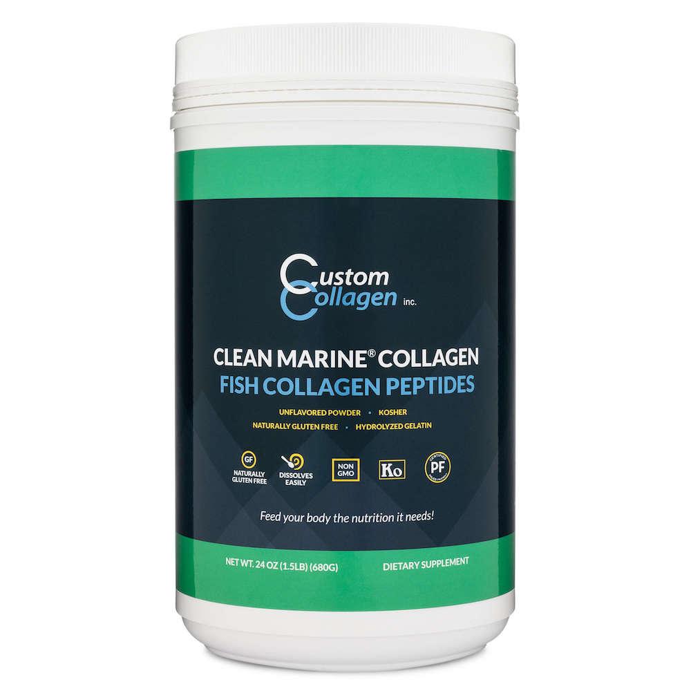 Hydrolyzed Gelatin - Fish Collagen Peptides - Custom Collagen - Certified Paleo Friendly, Keto Certified by the Paleo Foundation
