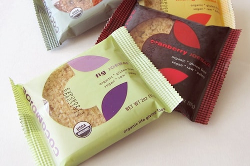 Joe Bars lineup - Cocomo Joe Foods - Certified Paleo - Paleo Foundation
