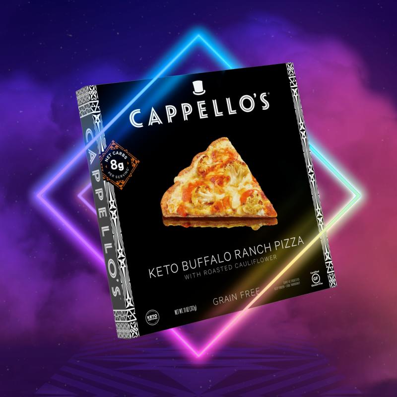 Keto Buffalo Ranch Pizza Gallery - Cappellos - Certified Paleo, Paleo Friendly, Paleo Vegan, Keto Certified by the Paleo Foundation
