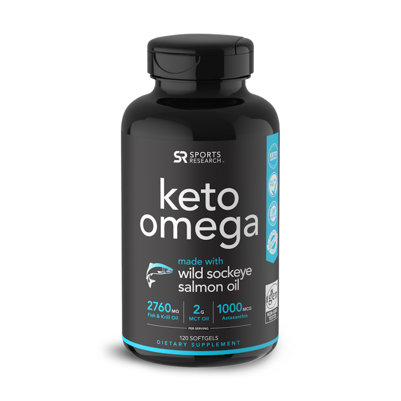 Keto Omega - Chocolate - Sports Research - Certified Paleo Friendly, KETO Certified by the Paleo Foundation