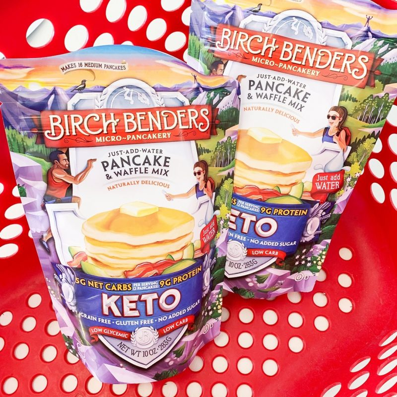 Keto Pancake and Waffles Mix 4 - Birch Benders - Keto Certified by the Paleo Foundation