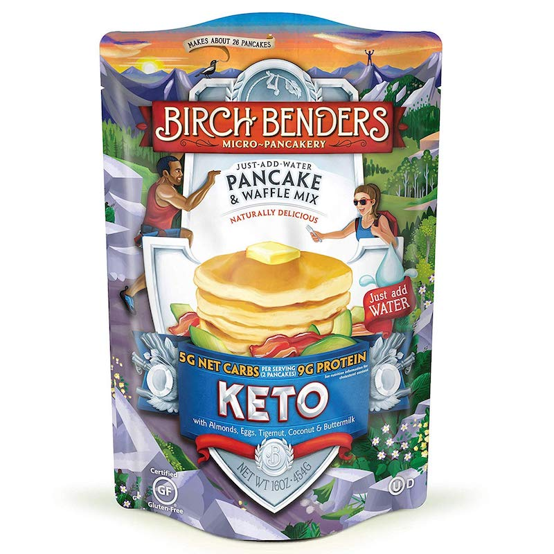 Keto Pancake and Waffles Mix - Birch Benders - Keto Certified by the Paleo Foundation