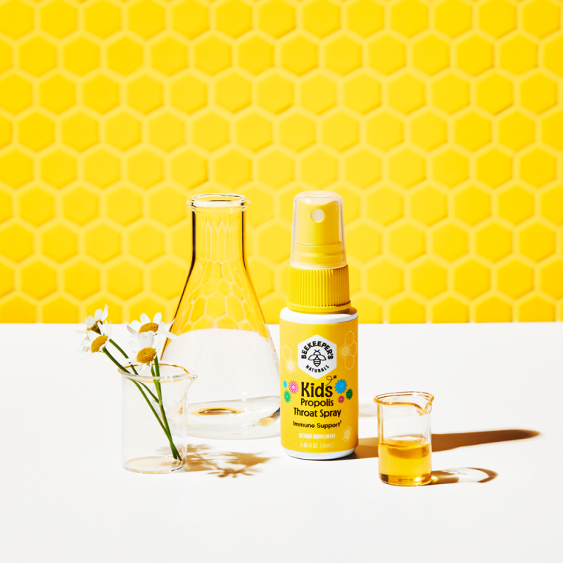 Kids Propolis - Beekeeper's Naturals - Certified Paleo, Keto Certified by the Paleo Foundation