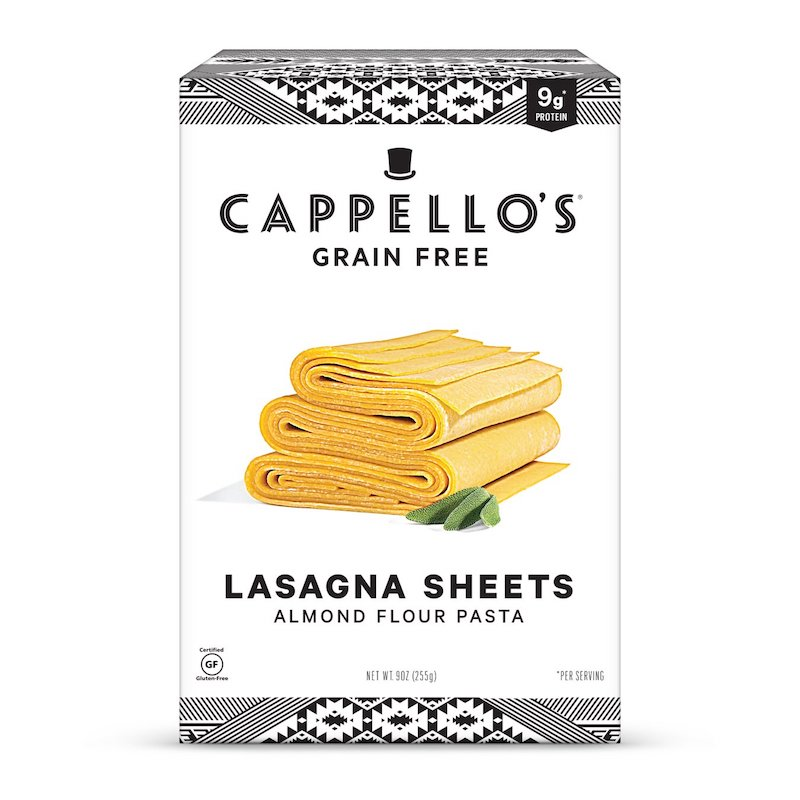 Lasagna Sheets - Capello's - Certified Paleo by the Paleo Foundation