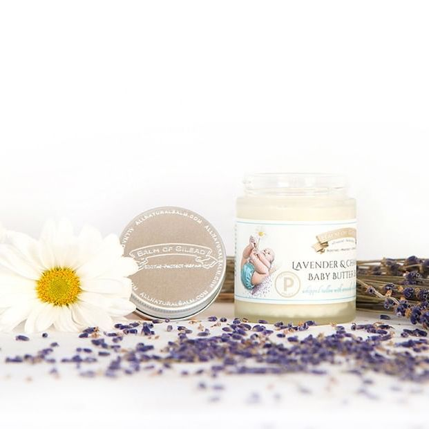 Lavender & Chamomile Baby Butter Balm - Balm of Gilead - Certified Paleo - Paleo Foundation