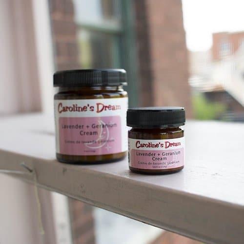Lavender + Geranium Cream - Caroline's Dream - Certified Paleo - Paleo Foundation