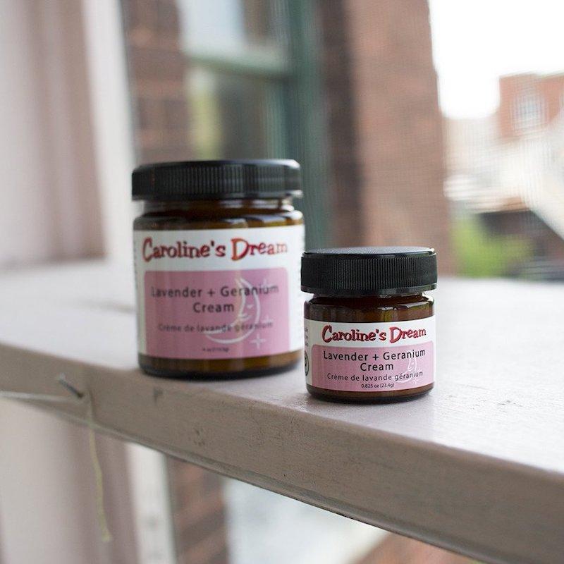 Lavender + Geranium Cream - Caroline's Dream - Certified Paleo by the Paleo Foundation