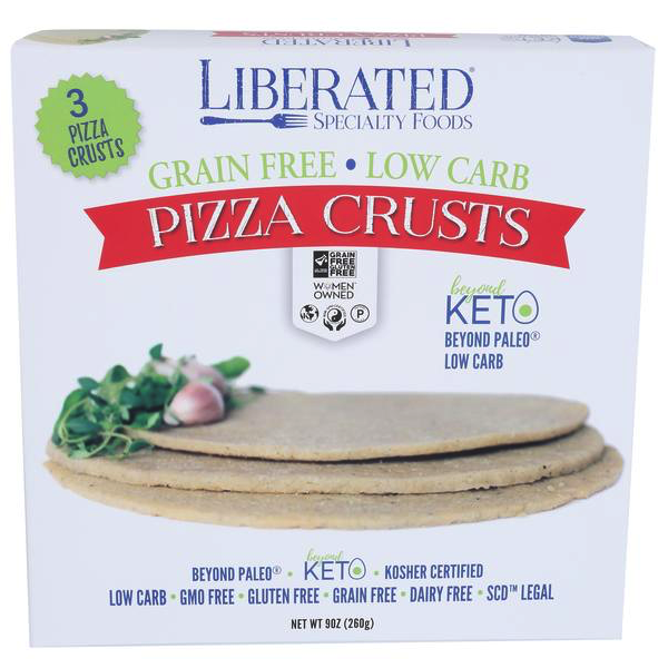 Liberated Pizza Crust 1 - Liberated Specialty Foods - Certified Paleo, Grain Free Gluten Free Certified - Paleo Foundation