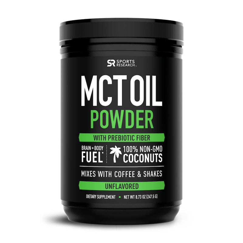 MCT Oil Powder - Sports Research - Certified Paleo by the Paleo Foundation