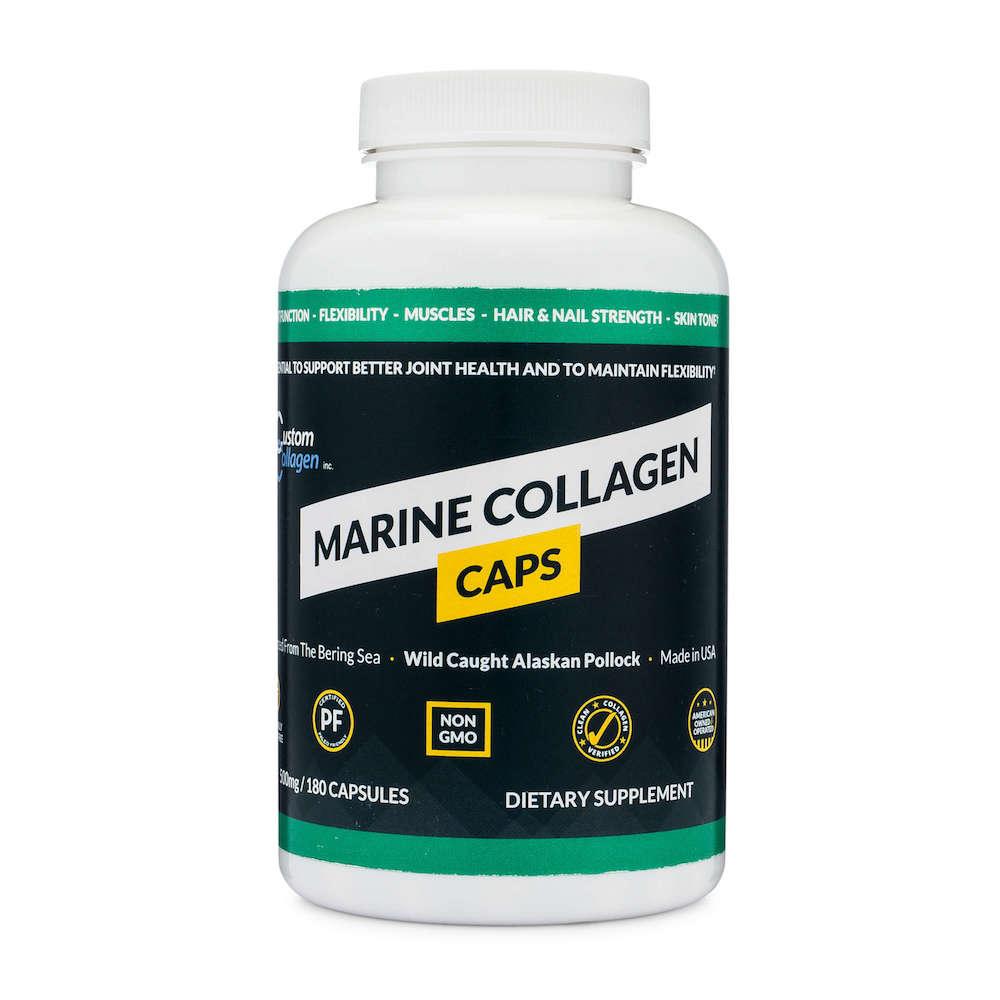 Marine CollagenCaps - Custom Collagen - Certified Paleo Friendly, Keto Certified by the Paleo Foundation