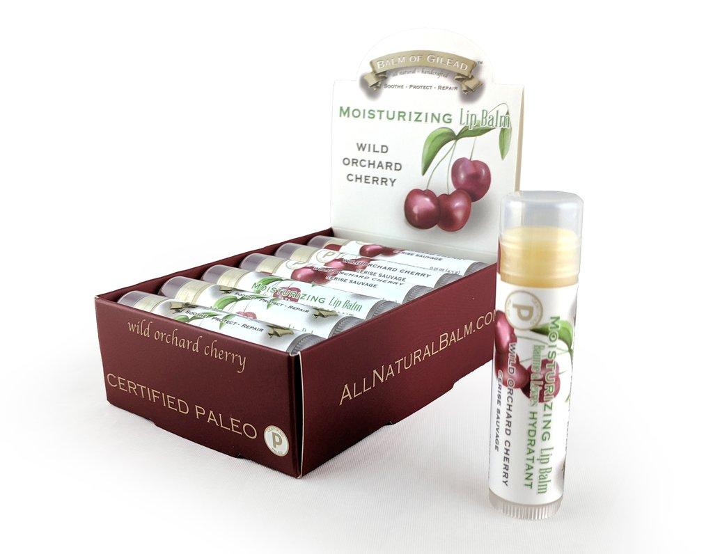 Moisturizing Wild Orchard Cherry Lip Balm