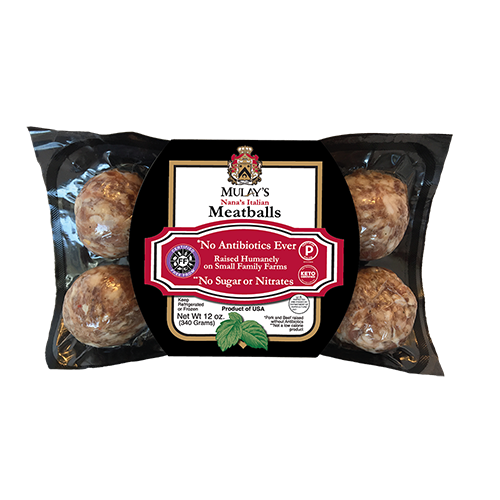 Nanas Italian Meatballs - Mulays - Paleo Friendly Keto Certified by the Paleo Foundation