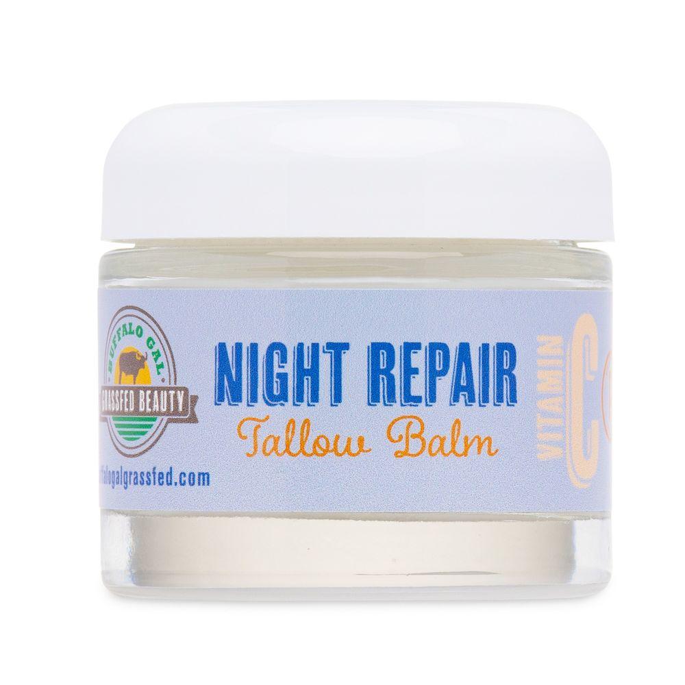 Night Repair Balm - Buffalo Gal Grassfed Beauty - Certified Paleo by the Paleo Foundation