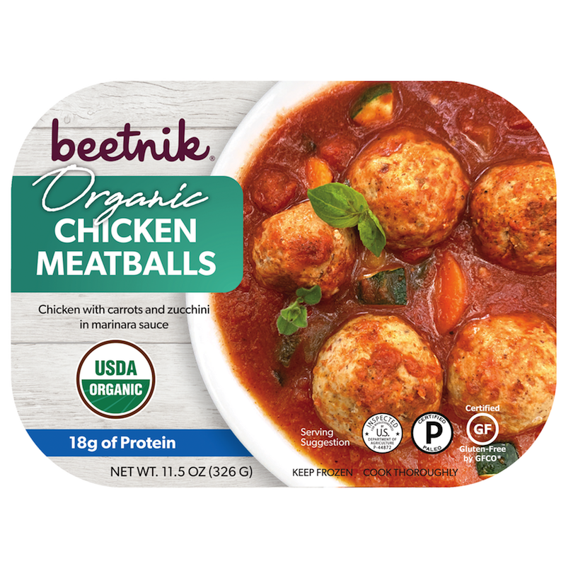 Organic Chicken Meatballs - Beetik Foods - Certified Paleo by the Paleo Foundation